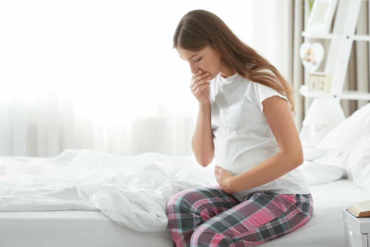 Mẹ bầu có thể bị ốm nghén nặng từ tuần thứ 5-7 của thai kỳ